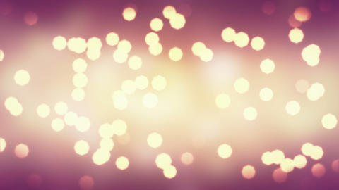 blinking bokeh lights loopable background Animation