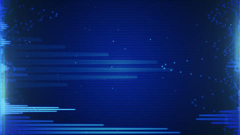 blue audio waveform loopable background Animation
