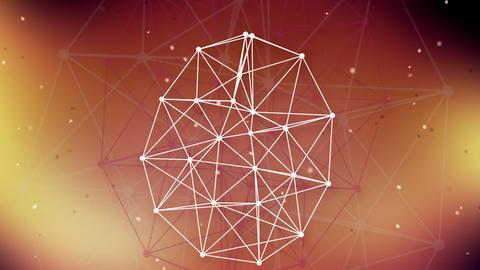 technology network background Animation