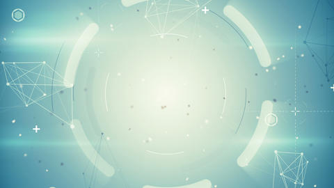 techno network loopable background Animation