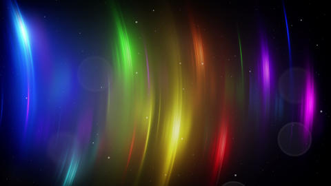 colorful light flares loopable background Animation