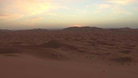 Erg Chebbi Sahara Desert Morocco Sand Dunes - FT00 Footage