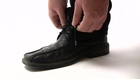 Black Shoe Footage