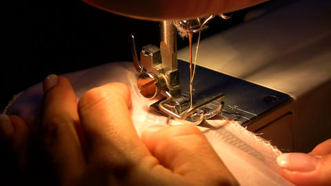 Sewing a Dress Footage