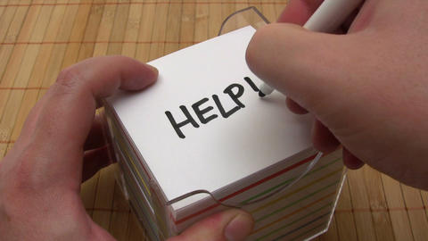 Writing a Help Note Live Action