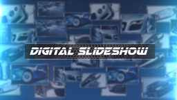 Digital Slideshow - Apple Motion and Final Cut Pro X Template Apple Motionテンプレート