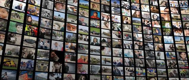imagewall 035 Plantilla de Apple Motion