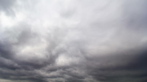 Clouds cover the sky. Time Lapse. 1280x720 Footage