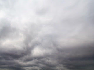Clouds cover the sky. Time Lapse. 320x240 Footage