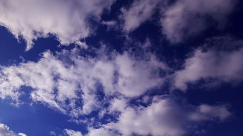 The sky cleared of clouds. Time Lapse Footage