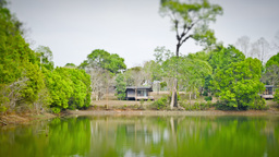【Nature】Lake Side House_TL Footage