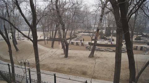 China Beijing Park Yuanmingyuan 22 Footage
