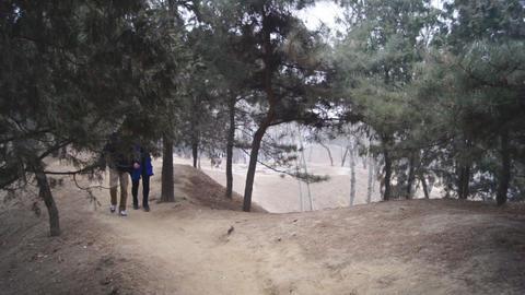 China Beijing Park Yuanmingyuan 23 Footage