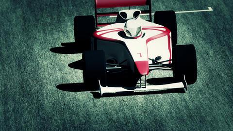 Formula 1 Car on Race Track v4 6 Animation