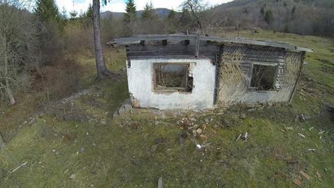 Abandoned Cottage Footage