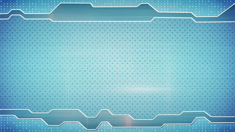blue techno plate loopable background Animation