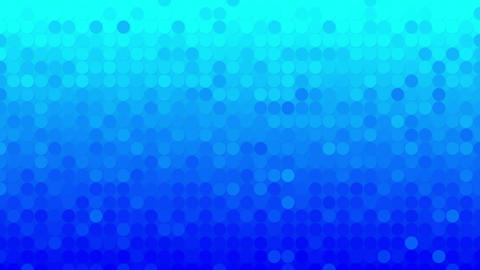 abstract blue circles mosaic loopable background Animation