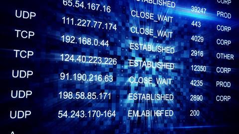 IP address seamless loop background Animation