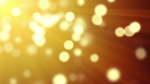 gold bokeh lights loopable background Animation