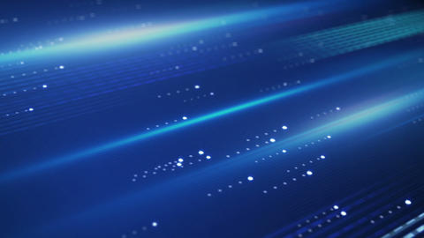 Data Transfer Blue Technology Loopable Background stock footage