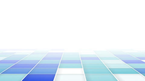 abstract blue squares loopable background Animation
