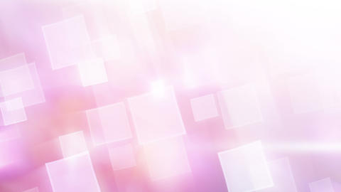 Pink Shiny Squares Abstract Loopable Background stock footage