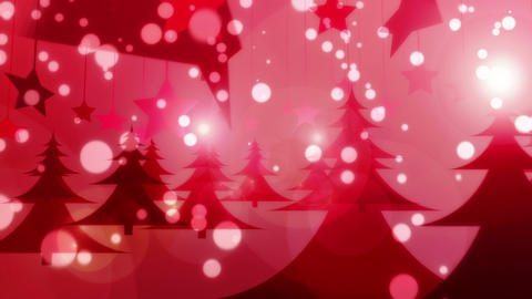 Red Christmas - Glamorous Christmas Video Backgrou Animation