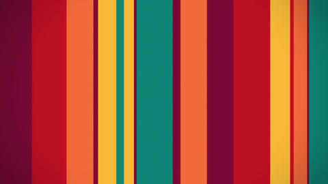 Color Stripes 5 - Moving Colorful Stripes Video Ba Animation