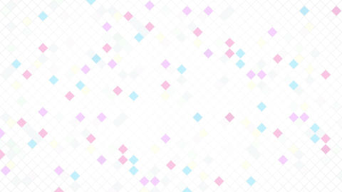 Square Cell Grid light background Fw 2 4k Animation