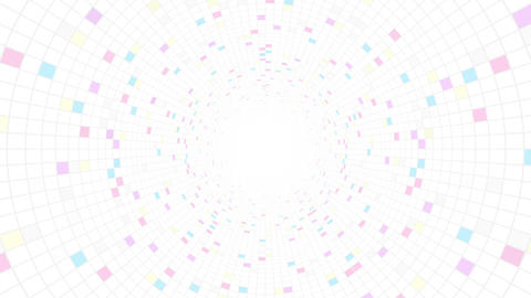 Square Cell Grid light background Pw 2 4k Animation