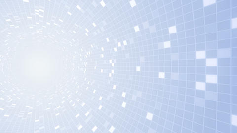Square Cell Grid Light Background Rw 1 4k stock footage