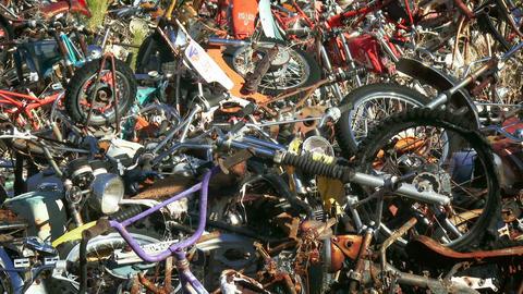 Bike Junkyard Footage