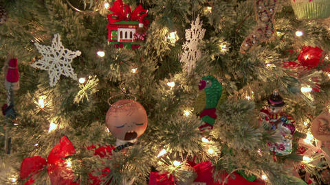 Christmas Tree and Presents Footage