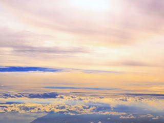 Between Clouds. Time Lapse. 320x240 stock footage