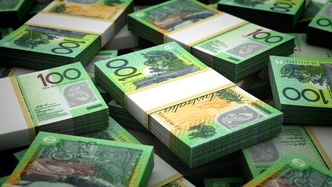 Billion New Zealand Dollar Animation