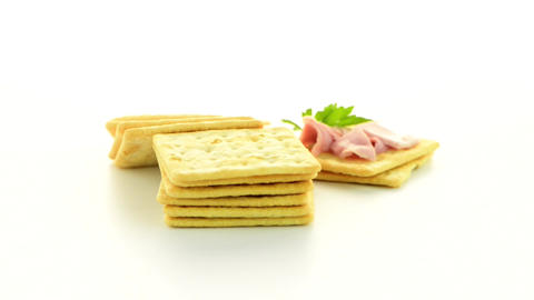 Cracker cookies appetizer Live Action