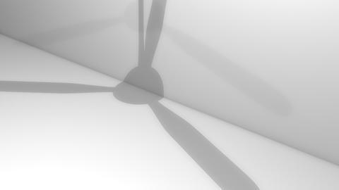 Fan Ceiling Shadow stock footage