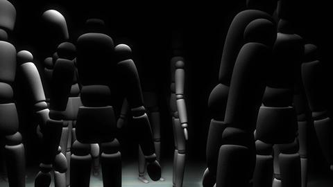 Manikin doll camera movement animation Animation