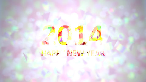 new year 2014 Animation