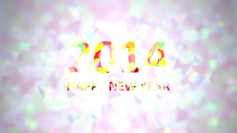 new year 2014 Animation