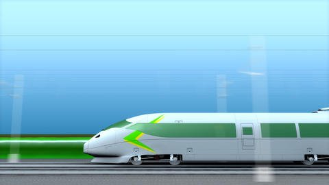 High speed rail Animation