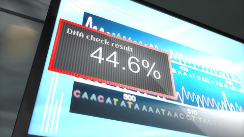 DNA matching Animation