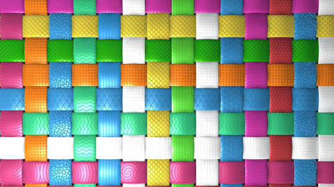 Basket Grid Pattern For Background stock footage