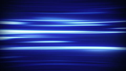 Horizontal Blue Fractal Lines Loop Background stock footage
