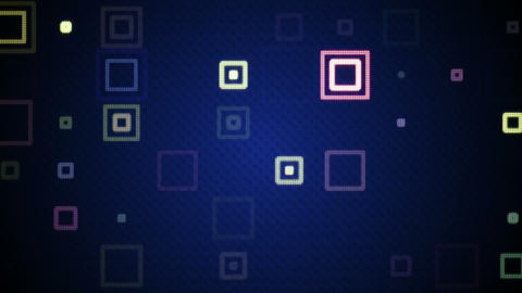 pulsating squares loopable background Animation