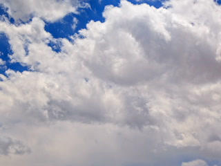 Clouds In The Sky. 320x240 stock footage