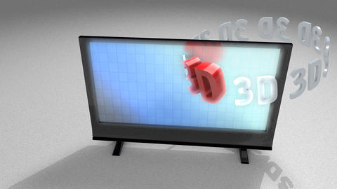 3d television Animation