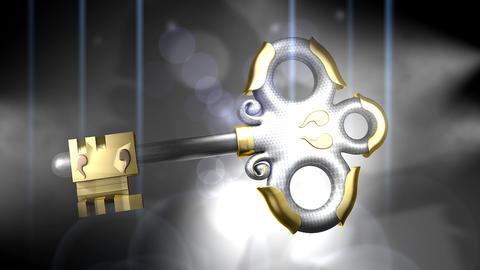 Antique key Animation