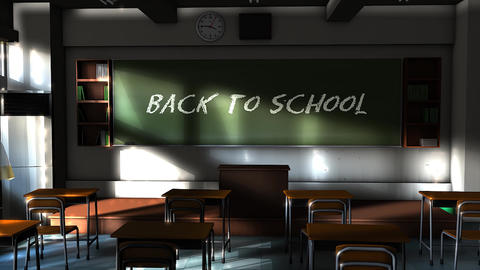 Back To School stock footage