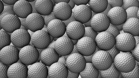 Ball golf Animation